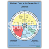 Brain Gym Action Balance Wheel chart