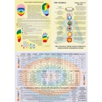 Chakras, their Characteristics, Associations and Reflex Zones (sale)