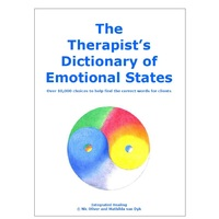 Kinesiologist's Dictionary of Emotional States