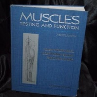 Muscles: Testing & Function 4e, (S/H)